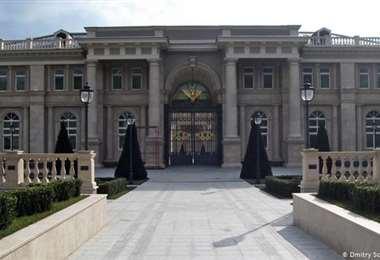 El Palacio atribuido al presidente Vladimir Putin