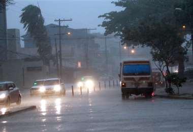 La intensidad de las lluvias superaron los valores de agua esperados para la época