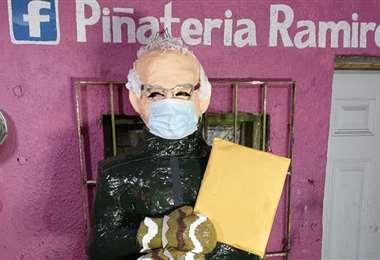 Muñeco recrea a Bernie Sanders/Foto: Milenio