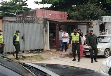 Foto: Policía Boliviana