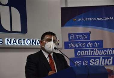 Mario Cazón, presidente del SIN, dio detalles de la devolución del IVA