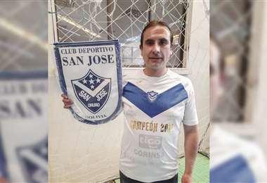 David Rivero, nuevo presidente de San José. Foto: APG Noticias