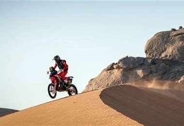 Joan Barreda ganó la etapa en motos y la general. Foto: Dakar