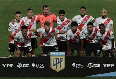 River Plate será local este martes en el estadio del club Independiente. Foto. AFP