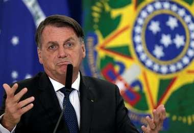 Bolsonaro, en un arrebato de honestidad