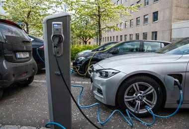 Auto eléctrico en Noruega. Foto AFP