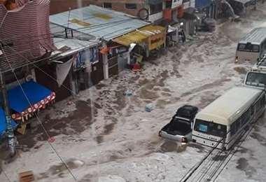 La tragedia registrada ayer en Sucre I redes.