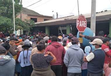Pobladores de Comarapa piden justicia por la muerte de Yamil Rosales