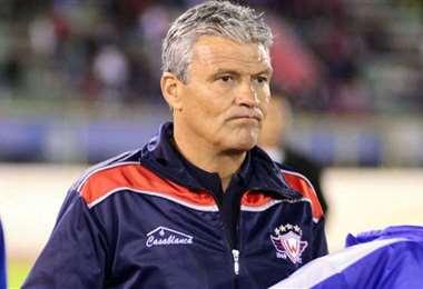 Néstor Clausen, entrenador argentino, que radica en Bolivia. Foto: internet