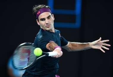 Roger Federer, un ícono  del tenis internacional. Foto: AFP