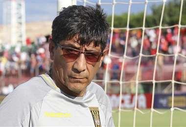 Alberto Illanes, DT de The Strongest. Foto: APG Noticias