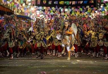 El Carnaval de Oruro debía realizarse el 13 de febrero