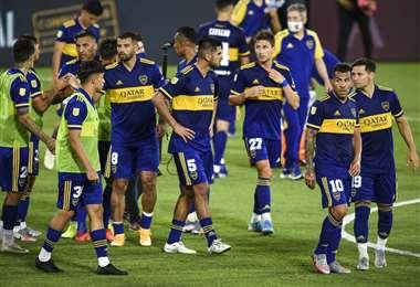 Boca Juniors será local este miércoles ante Santos. Foto. AFP