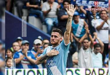Francisco Silva, nuevo defensor de Independiente. Foto: Internet