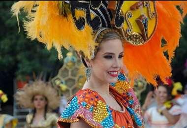 Iciar Díaz será la reina del Carnaval cruceño solidario 2021