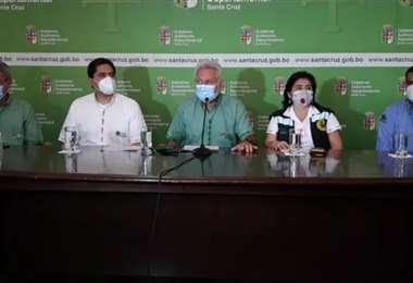 Las autoridades se refirieron al tema en conferencia de prensa