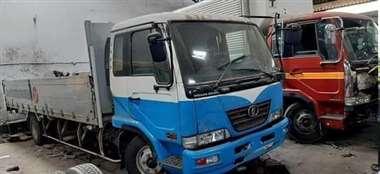 El camión de Rosales es objeto de investigación en el IDIF. Fotos: RRSS