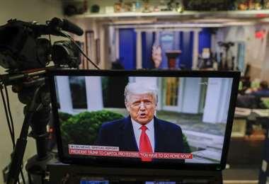 Donald Trump afirma que le cometieron un fraude electoral
