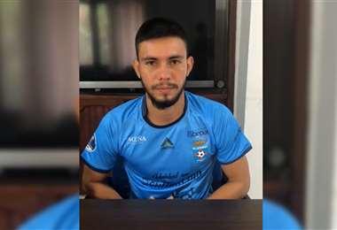 Carlos Ribera vestirá la camiseta de Blooming esta temporada. Foto: Captura video