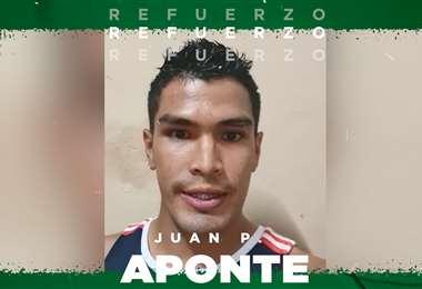 Juan Pablo Aponte se suma a Oriente 2021. Foto: Oriente Petrolero