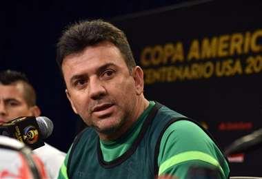 Baldivieso dirigió a la selección entre 2015 y 2016. Foto: Archivo