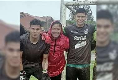 Cordano se entrena en Santa Cruz. Foto: Facebook Nery Quintana
