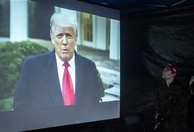 Trump se queda sin cuenta en Facebook. Foto AFP