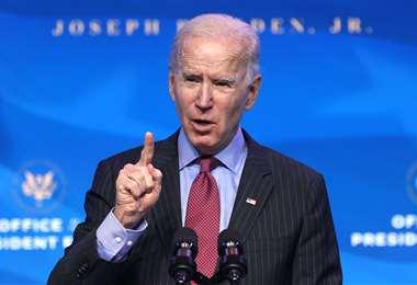 """""""Es uno de los presidentes más incompetentes de la historia de EEUU"""", dijo Biden /AFP"""