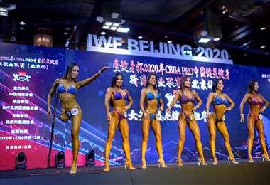 Gui Yuna en plena competencia. Foto: AFP