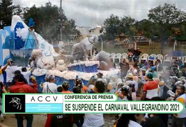 Las festividades de Carnaval en Vallegrande se suspenden hasta el próximo año
