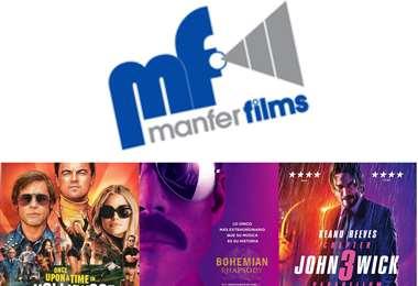 Manfer Films fue la responsable de proyectar importantes títulos en los cines del país