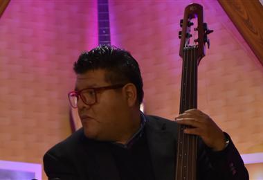 Randolph Ríos en una de sus actuaciones