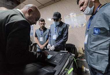 Elecciones legislativas en Irak/Foto: AFP