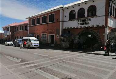 la ciudad amanecerá sin mercados abiertos y calles cerradas/ Foto: Juan Carlos Salinas