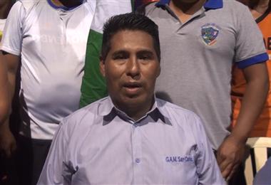Óscar Cinko, alcalde de San Carlos