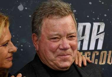 William Shatner, actor de Star Trek/Foto: AFP