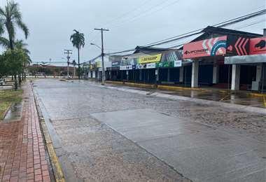 Así luce el comercial Chiriguano en Santa Cruz/Foto: EL DEBER