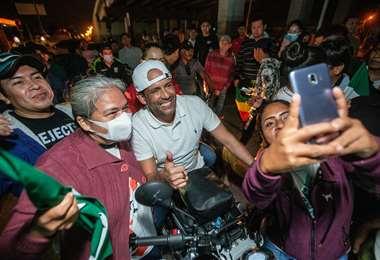 Camacho expresó que Santa Cruz sigue siendo la esperanza de Bolivia