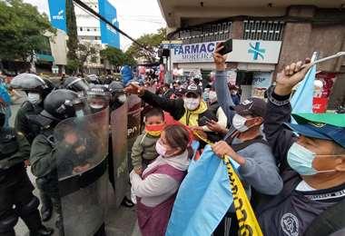 La protesta en Cochabamba I Dico Soliz-Opinión.