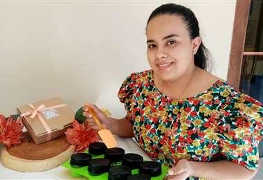 Mariel Caballero abrió All Natural
