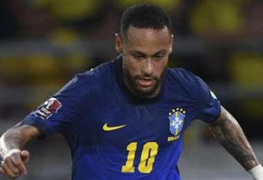 Neymar no pasa un buen momento futbolístico. Foto: AFP