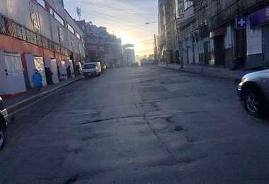 Normalidad en la ciudad de La Paz I redes.