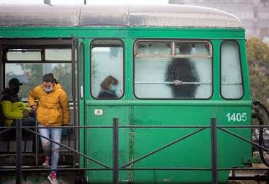 Covid en Serbia /Foto: AFP