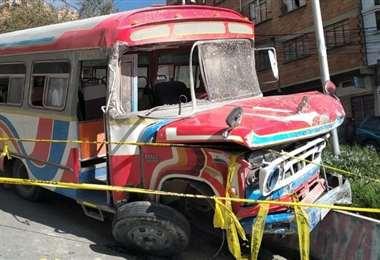 El accidente en La Paz I F10 Noticias.