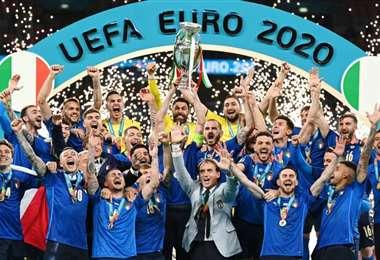 El actual campeón de la Eurocopa es Italia. Foto: Internet
