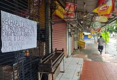 Los gremialistas rechazan la norma que quiere imponer el gobierno/Foto: JC Torrejón