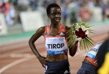 Agnes Tirop fue medallista mundial. Foto: AFP