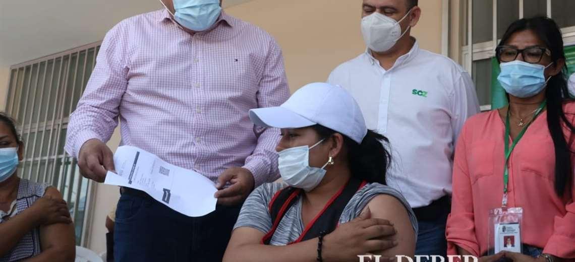 Bolivia asume la aplicación de una tercera dosis. Foto: JC Torrejón