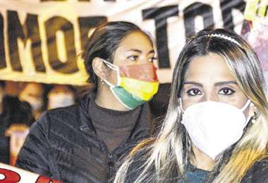 Carolina Ribera denuncia mayor acoso sobre jeanine Áñez. ARCHIVO