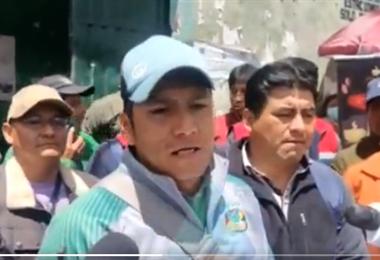 Cocaleros anuncian protesta I captura.